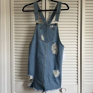 Denim jean dress